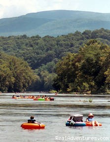 Tubing With Your Friends - Canoe, kayak and tube the famous Shenandoah River