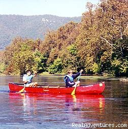 Canoe, kayak and tube the famous Shenandoah River