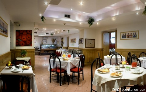 Restaurant - Hotel delle Muse
