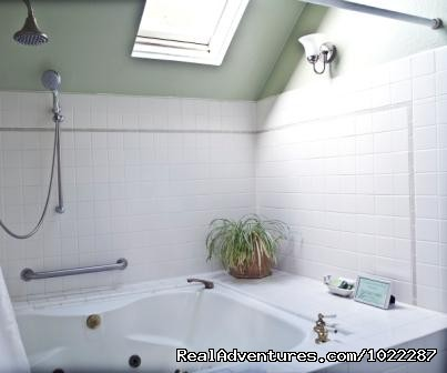 Pine Room Bathroom - Wonderful B&B in the Heart of Healdsburg