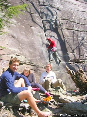 Castle Rock Institute: Rock Climbing
