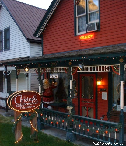 - Christmas House Bed and Breakfast Inn, Ouray, Colo