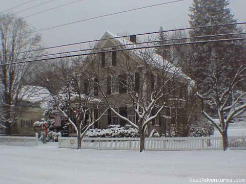 Canterbury House Bed and Breakfast: Winter
