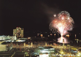 Fireworks on lake Coeur d'Alene - The Roosevelt Inn, Bed and Breakfast