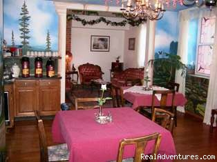 Dining room - The Roosevelt Inn, Bed and Breakfast