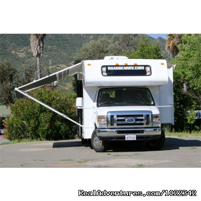 Motorhome 29-31 ft. with Slide-Out - Sleeps up to 7 people - Motorhome, RV & Campervan Rentals SFO LAS NYC DEN