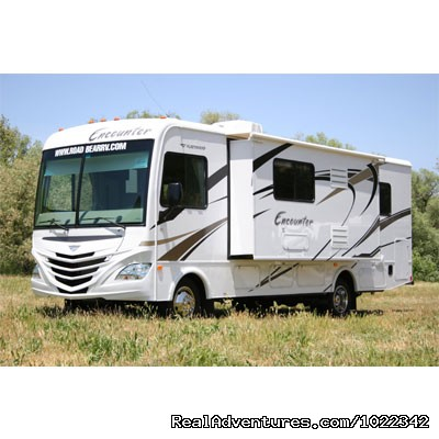 Motorhome 30-32 ft. with Slide-Out - Great for 4 people - Motorhome, RV & Campervan Rentals SFO LAS NYC DEN