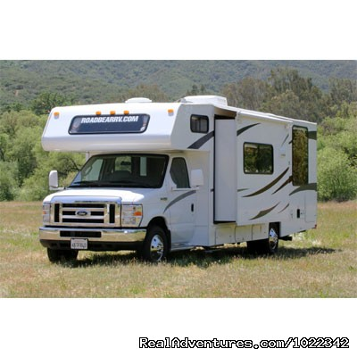 Motorhome 26-28 ft. with Slide-Out - Perfect for a family - Motorhome, RV & Campervan Rentals SFO LAS NYC DEN