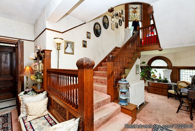 Grand Staircase - Galen C. Moses House