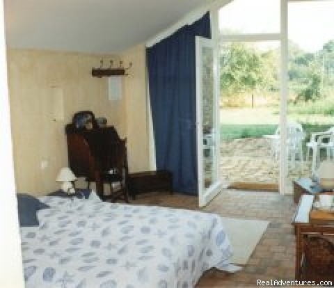 Blue bedroom - 'Romantic Getaways at Le Tertre B&B'