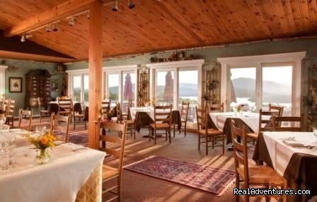 Lakeview Dining Room | Image #10/15 | Lodge at Moosehead Lake for Nature Loving Hideaway