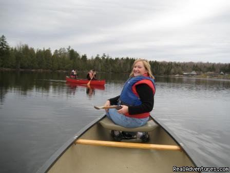 Canoeing in local ponds at Moosehead Lake | Image #3/15 | Lodge at Moosehead Lake for Nature Loving Hideaway