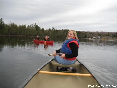 Canoeing in local ponds at Moosehead Lake - Lodge at Moosehead Lake for Nature Loving Hideaway