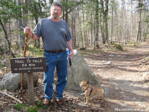 Hiking to Moxie Falls (#8 of 15) - Lodge at Moosehead Lake for Nature Loving Hideaway