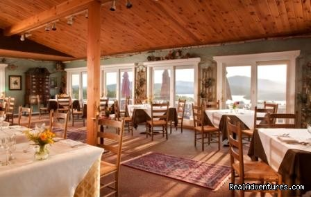 Lakeview Dining Room - Lodge at Moosehead Lake for Nature Loving Hideaway