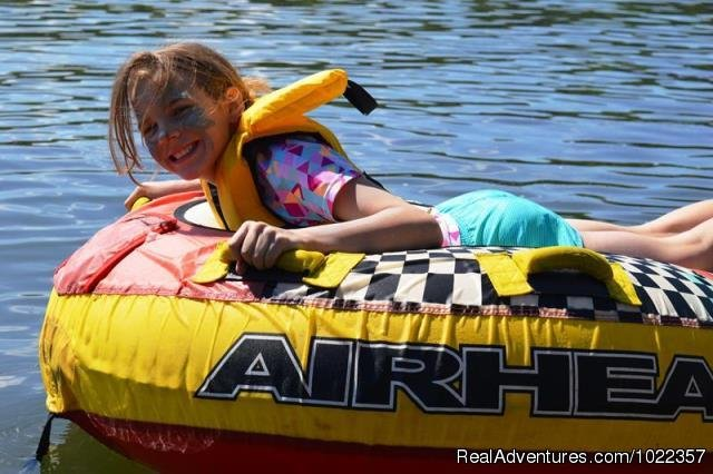 Tubing on the lake | Image #7/19 | Ekocamp International