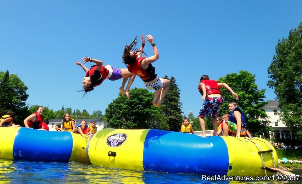 Water trampolines | Image #15/19 | Ekocamp International