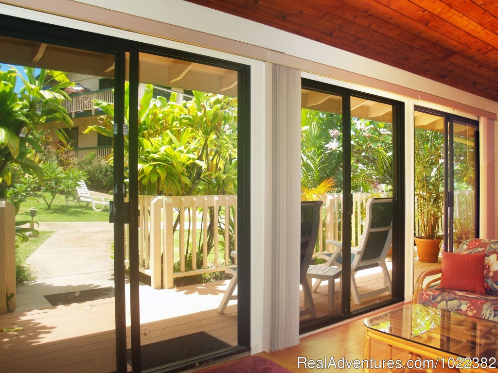 Garden view one bedroom | Image #3/23 | Kauai B&B Inn & Vacation Rentals with a/c