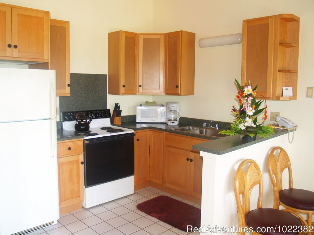 One Bedroom Full Kitchen | Image #6/23 | Kauai B&B Inn & Vacation Rentals with a/c