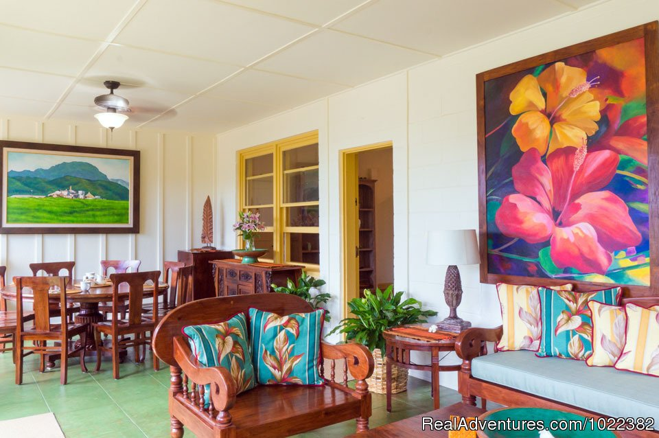 Bed and Breakfast common area | Image #12/23 | Kauai B&B Inn & Vacation Rentals with a/c