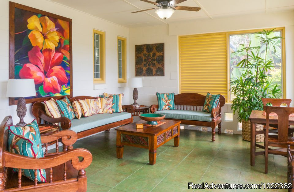Bed and Breakfast common area | Image #14/23 | Kauai B&B Inn & Vacation Rentals with a/c
