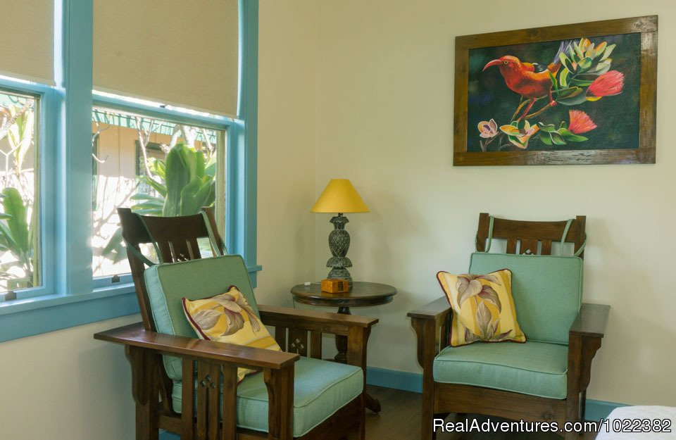 Bed and Breakfast Garden suite | Image #15/23 | Kauai B&B Inn & Vacation Rentals with a/c