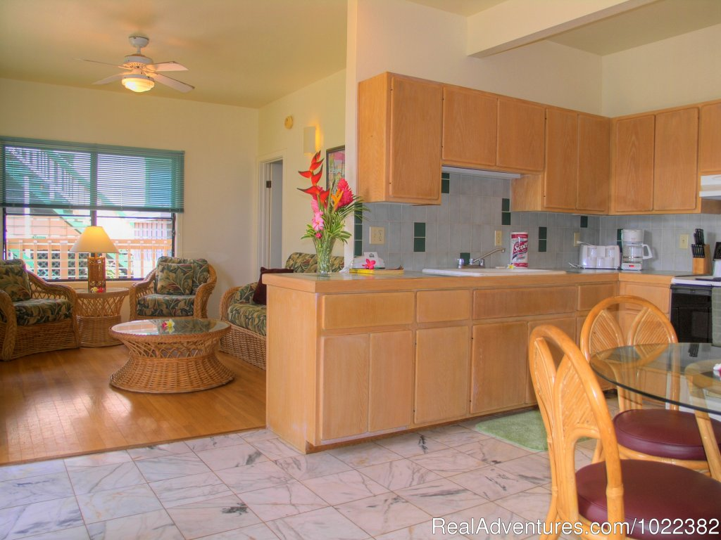 Two Bedroom, Two Bathroom Vacation Rental Suite | Image #18/23 | Kauai B&B Inn & Vacation Rentals with a/c