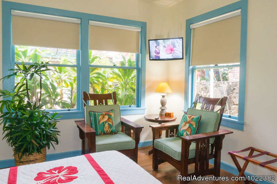 Bed and Breakfast Garden suite | Image #20/23 | Kauai B&B Inn & Vacation Rentals with a/c