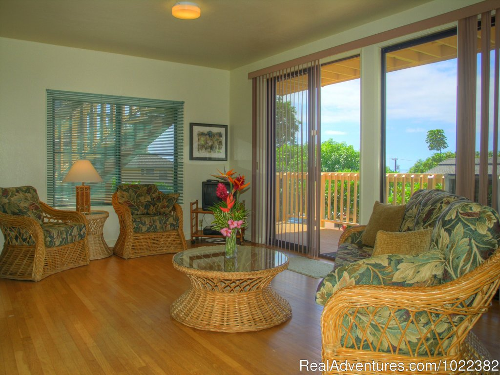 One bedroom Vacation rental suite | Image #16/23 | Kauai B&B Inn & Vacation Rentals with a/c