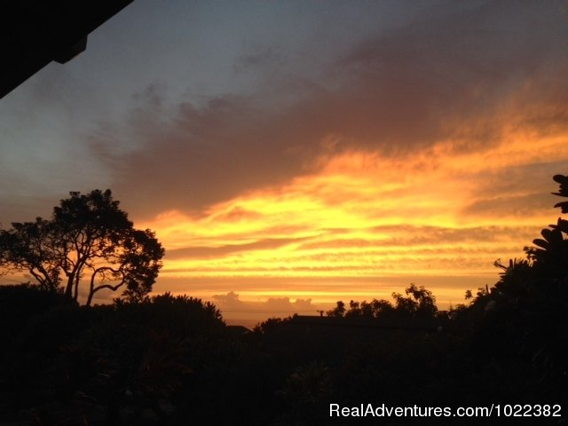 Sunset view from one bedroom deck | Image #22/23 | Kauai B&B Inn & Vacation Rentals with a/c