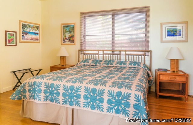 One Bedroom Vacation Rental Suite - Kauai B&B Inn & Vacation Rentals with a/c