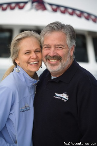 Captain Richard And Chef Nancy Friedman (#2 of 26) - Alaska Yacht Charters Aboard Alaskan Song