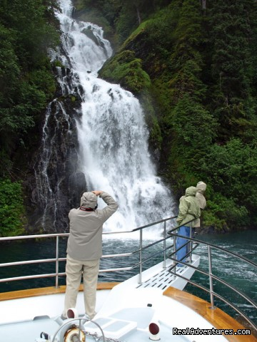Waterfall (#21 of 26) - Alaska Yacht Charters Aboard Alaskan Song