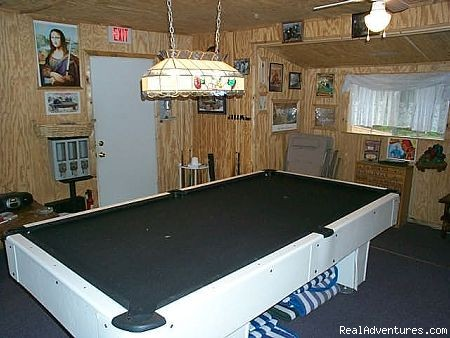 Pool Table - Tumble On Inn Bed & Breakfast