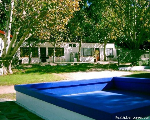 Paddling pool - Allandale Holiday Cottages