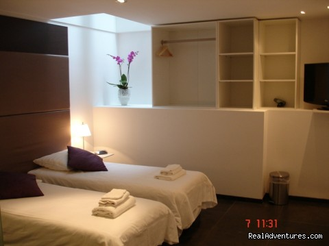 Purple room (#8 of 26) - Amsterdam Heren bed and breakfast