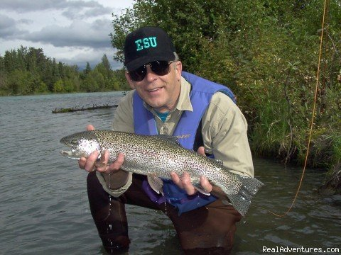 A Trophy Rainbow Trout