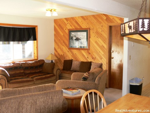 Interior of Riverfront Chalets - Alaska Adventures at Krog's Kamp
