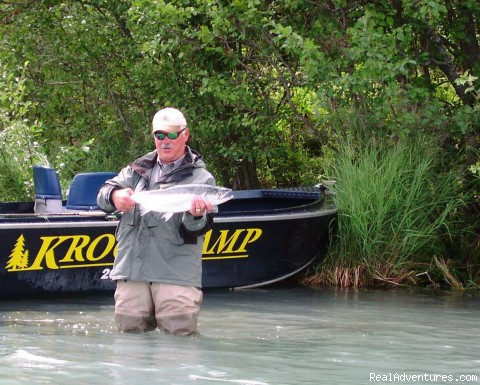 Larry Csonka on the Kenai - Alaska Adventures at Krog's Kamp