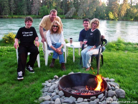 The Firepit - Alaska Adventures at Krog's Kamp