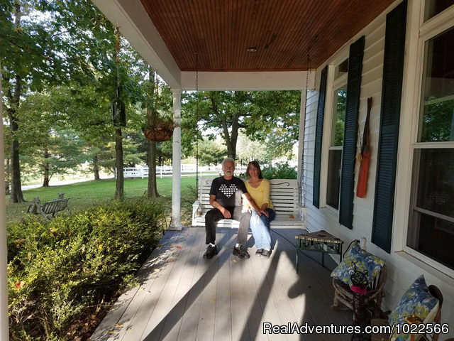 Porch Swing - First Farm Inn Kentucky