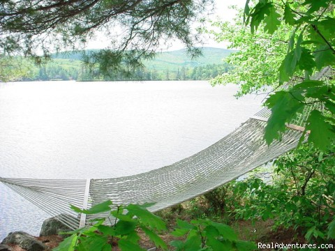 Hammock by Lakefront - Follansbee Inn on Kezar Lake