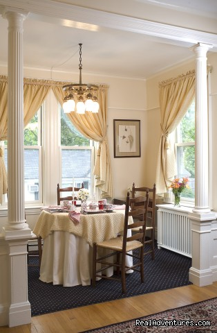 Maine Stay Inn Dining Room - Maine Stay Inn - Premier Kennebunkport B&B