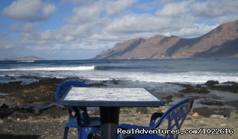 Oceanside restaurant - EcoLifeWalks, Sunny Island Spa + Biosphere Walks