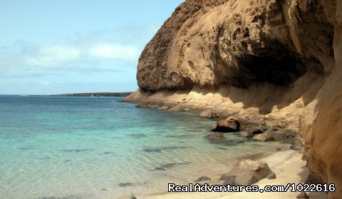 Secret Beach on La Graciosa Island - EcoLifeWalks, Sunny Island Spa + Biosphere Walks
