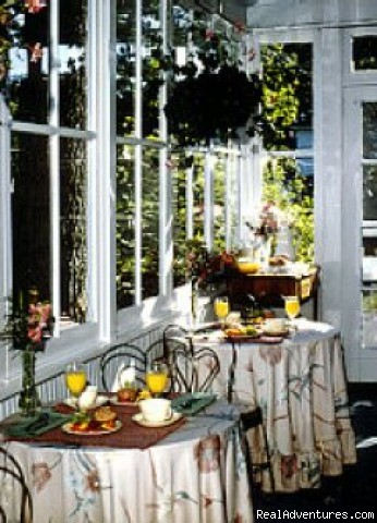 Breakfast porch, Graycote Inn (#9 of 10) - Graycote Inn, A retreat from the everyday