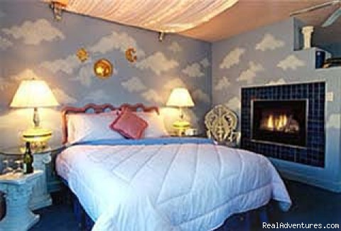 Blue Skies bedroom - Escape from Reality at Blue Skies Inn B & B