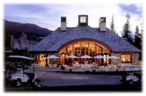 Eagle Tours-Golf holidays to Whistler, Canada: Chateau Whistler Clubhouse