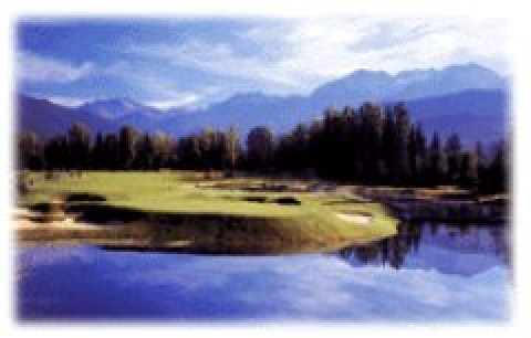 Nicklaus North from Green Lake - Eagle Tours-Golf holidays to Whistler, Canada