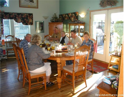 Full breakfast served daily. - A Bed and Breakfast Inn on Minnie Street